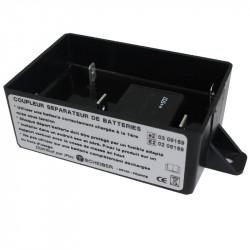 Coupleur séparateur 50A (relais 70A) 300Ah 12V Option Euro6 SCHEIBER 38.12002.00