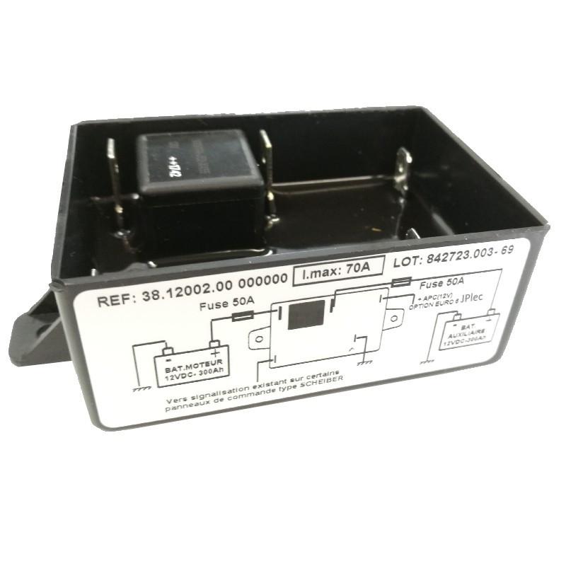 Coupleur séparateur 70A 300Ah 12V Option Euro6 SCHEIBER 38.12002.00