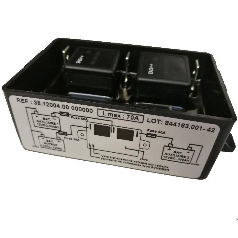 Coupleur séparateur 3 batteries 70A 300Ah 12v SCHEIBER 38.12004.00