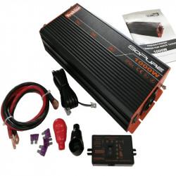 Convertisseur 12V / 230V 1000W pur sinus Vechline