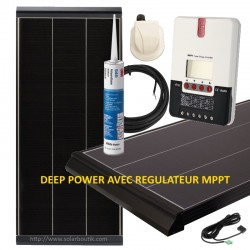 Kit solaire Deep Power 235W MPPT 20A