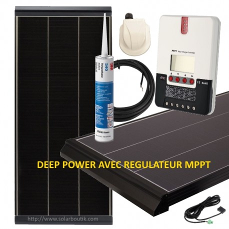 Kit solaire Deep Power 235W MPPT 20A