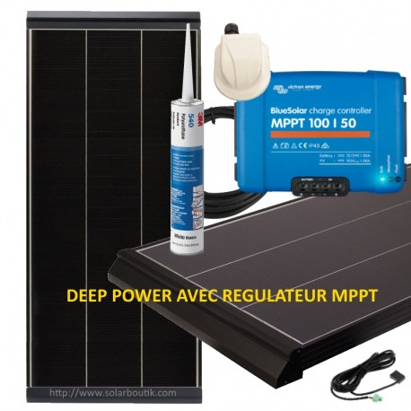 Kits solaires Deep Power 470W Vechline MPPT 50A Victron