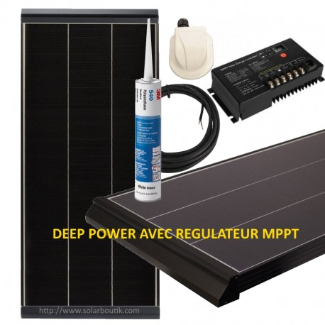 Kit solaire Deep Power 130W MPPT 10A