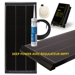 Kit solaire Deep Power 155W MPPT 15A
