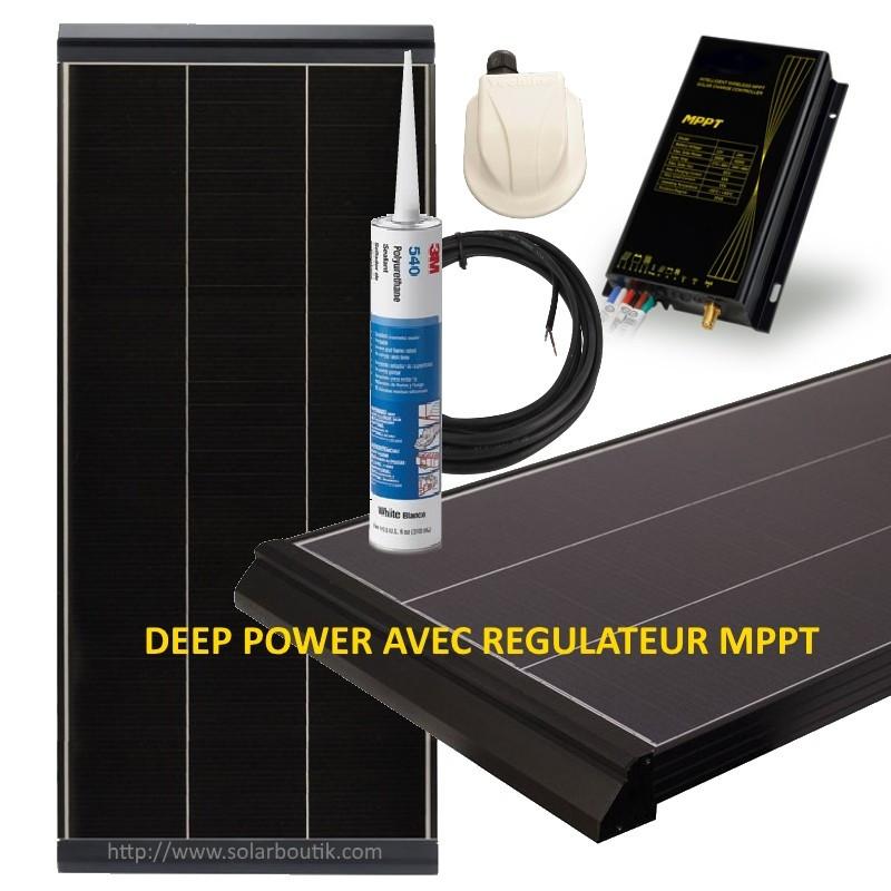 Kit solaire Deep Power 195W MPPT 15A