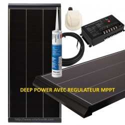 Kit solaire Deep Power 105W MPPT 10A