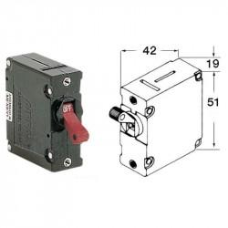 Disjoncteur DC AC 12/230V Magnéto Hydraulique à levier