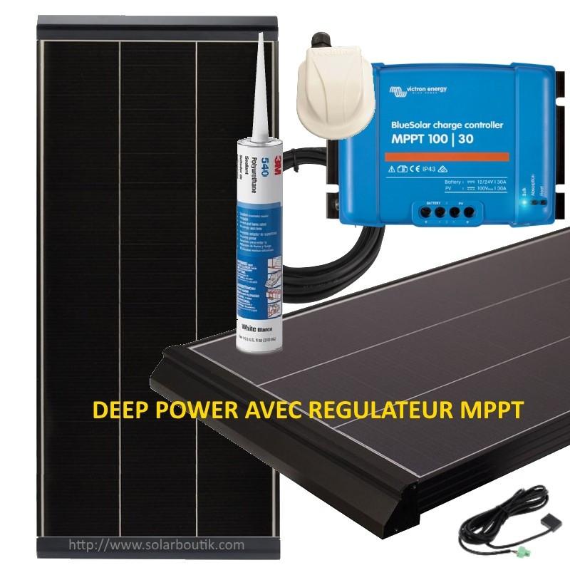 Kit solaire Deep Power 280W avec MPPT 30A VICTRON