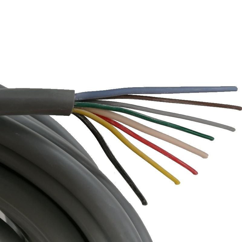 Câble multiconducteur 6 X 1 + 2 X 2,5 MM²