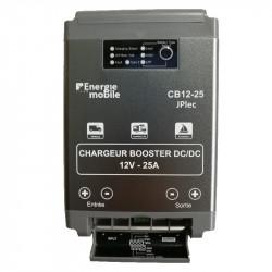 Coupleur Chargeur Booster 12 volts 25A compatible Euro5 Euro6 CB12-25