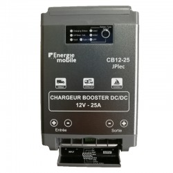 Coupleur Chargeur Booster 12 volts 25A compatible Euro5 Euro6 CB12-25BT Bluetooth