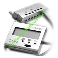 Voltmetre Amperemetre pour regulateur