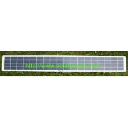 Panneau solaire semi-rigides 20w 12v Blue Water
