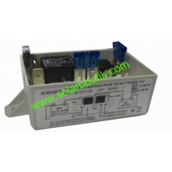 Coupleur séparateur de batterie 70A 300Ah 12v 3 départs SCHEIBER 38.14711.00
