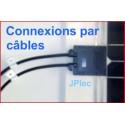 100w, Oeillets, sortie câbles Back contact SP100L.W.JB