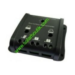 Régulateur deux batteries 12v/24v 20A SBC Duo20