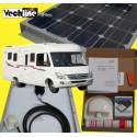 PANNEAU SOLAIRE CAMPING CAR KIT 75W