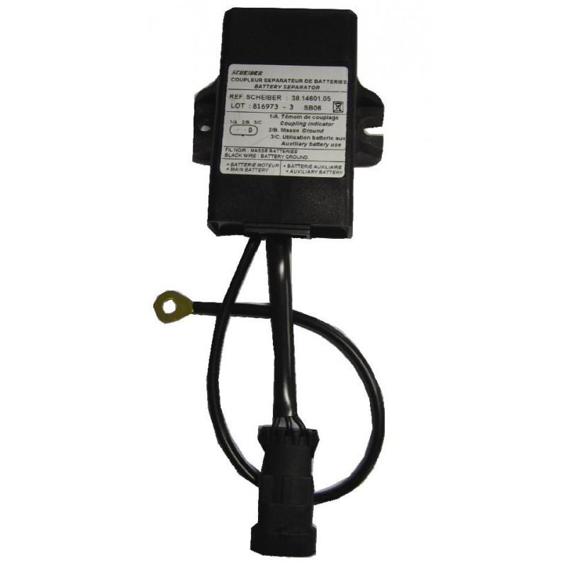 Coupleur Séparateur de batterie Régulé 30A