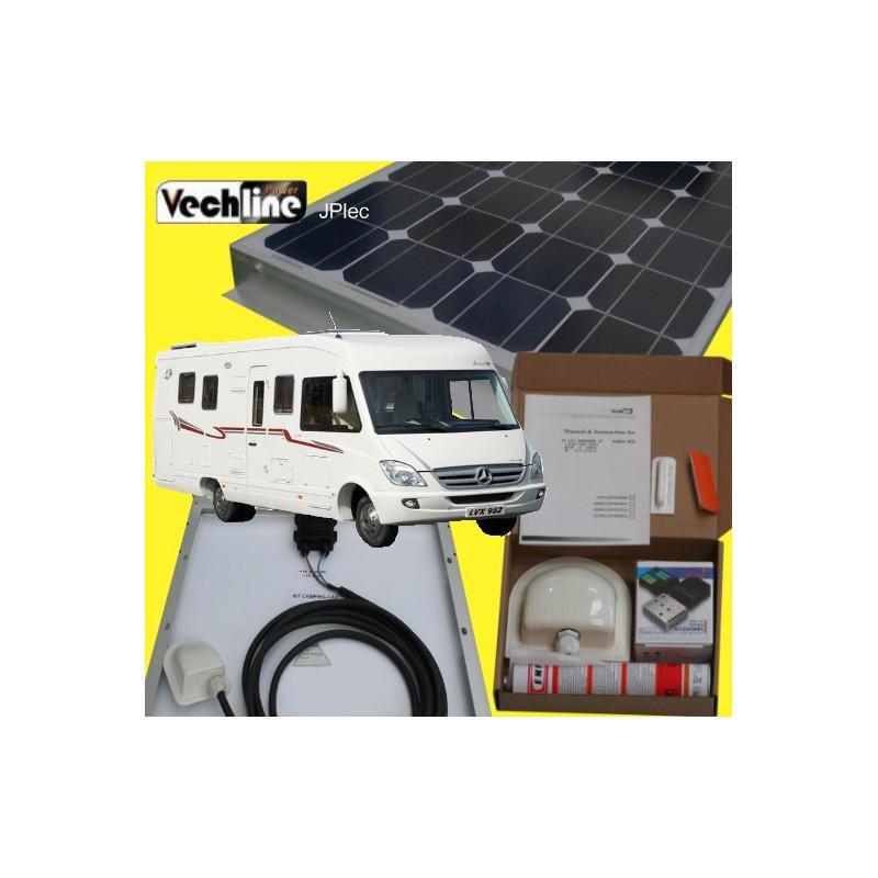 PANNEAU SOLAIRE CAMPINGCAR KIT 120W