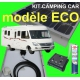 Kit camping-car 200w complet MONOCRISTALLIN Gamme ECO