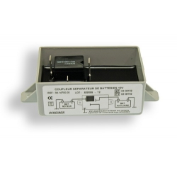 Coupleur 2ème batterie Auxiliaire 70A 300Ah 12v SCHEIBER 38.14713.00