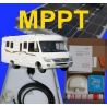 KIT SOLAIRE CAMPING CAR 100 Watts MPPT