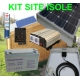 Kit solaire 200 watts 230 volts site isolé