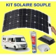 KIT SOLAIRE SOUPLE 80 W CAMPING CAR