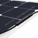 Kit solaire bateau électrique 200W MPPT 12V souple Back Contact Cellule Sunpower