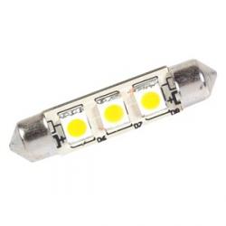 AMPOULE NAVETTE LED 12V 0.6W 42mm