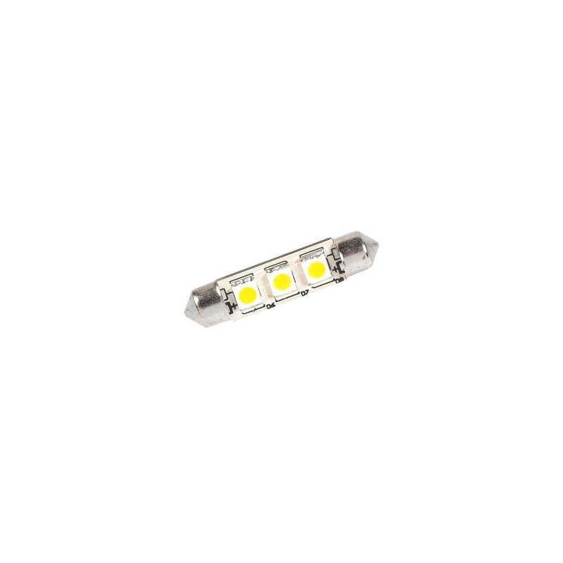 AMPOULE NAVETTE LED 12V 0.6W 42mm