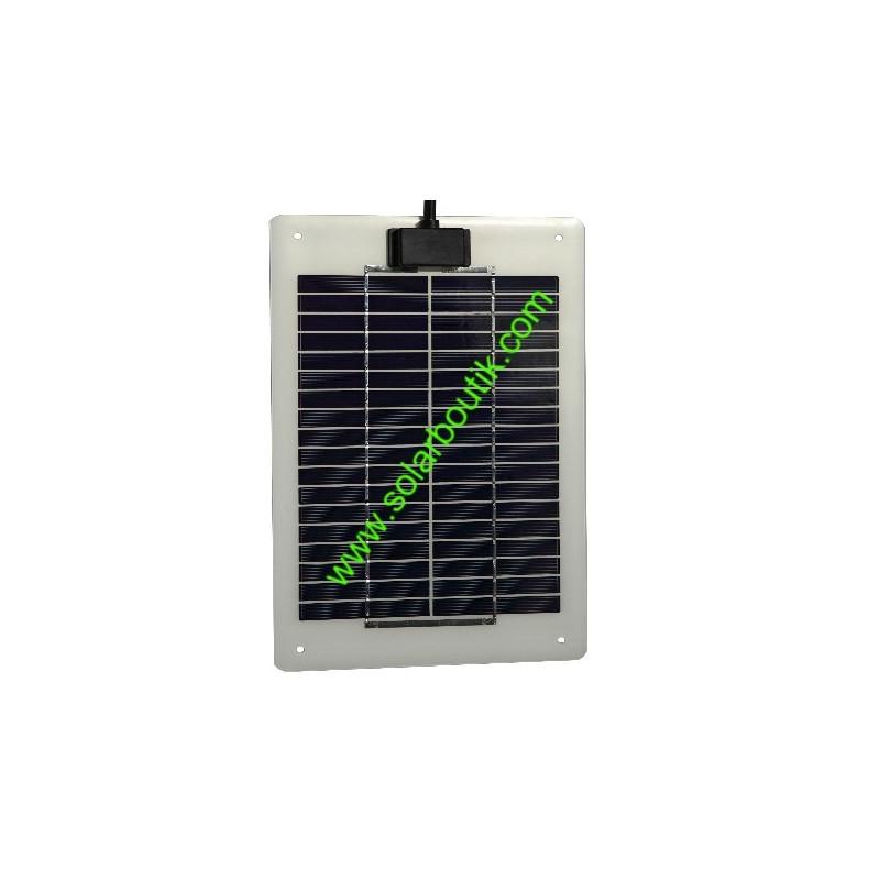 Panneau solaire semi-rigides 5w 12v série MT inox