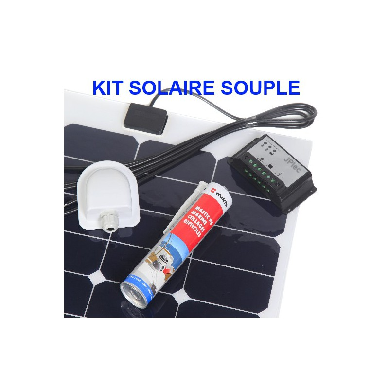 kit solaire souple back contact et mppt 200w pour camping car. Black Bedroom Furniture Sets. Home Design Ideas