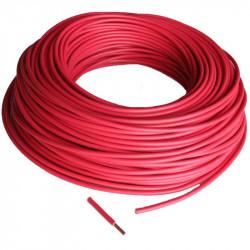 Fil 6mm² souple H07VK Rouge
