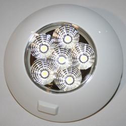 Plafonnier LED pour bateau, camping-car et site isolé 12V / 24V