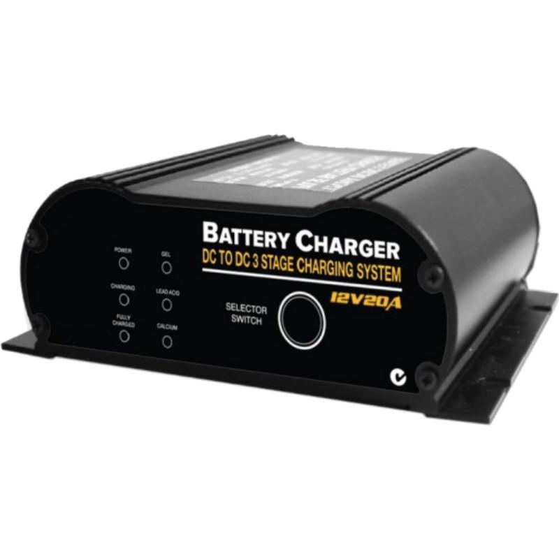 Coupleur Chargeur Booster 12 volts CB12-20