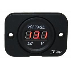 Voltmetre 12V / 24V numérique