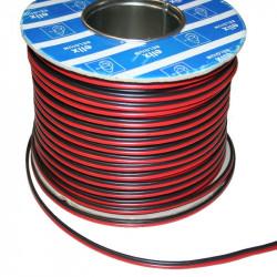 Câble 2x1mm² Rouge Noir