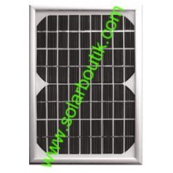 Panneau solaire 5w 12v monocristallin