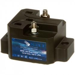 Coupleur séparateur 12/24V 160A, 480A en pointe.