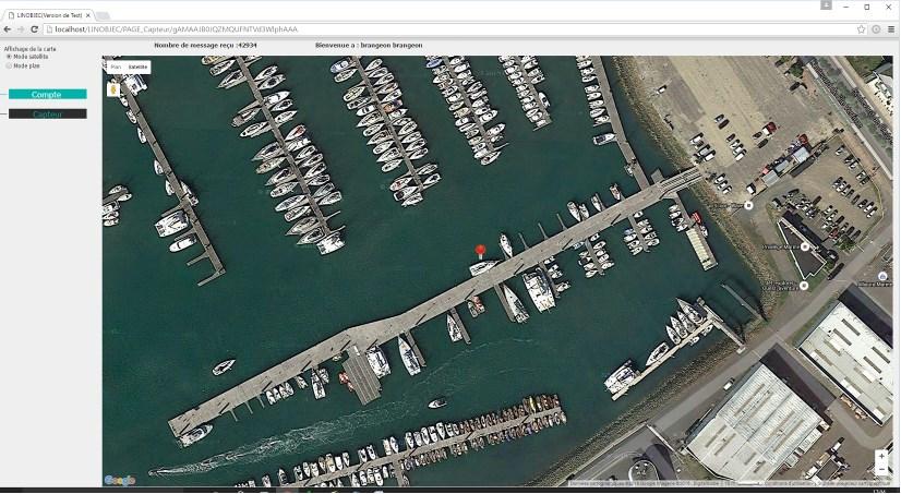 Géolocalisation bateau ou camping car